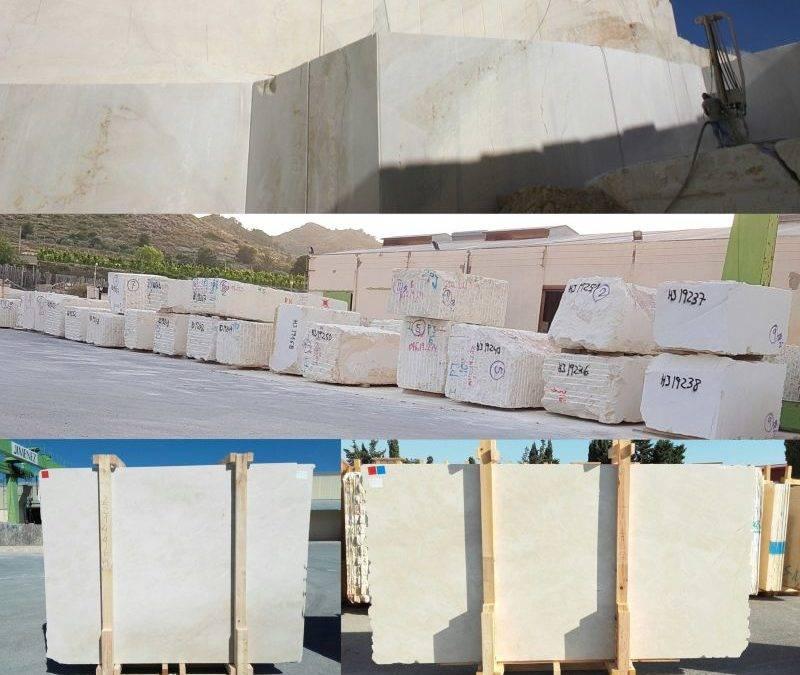 Nueva producción mármol Crema Marfil