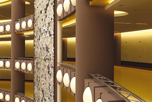 diseño de espacios interiores con bronstone