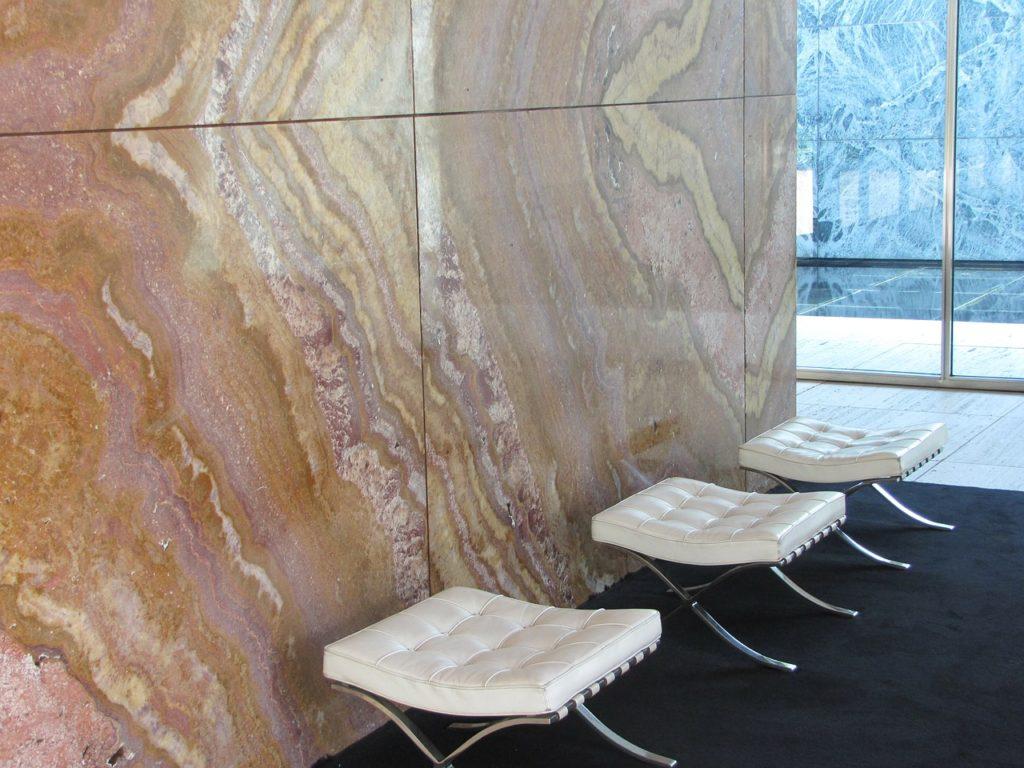 suelo marmol abrillantado