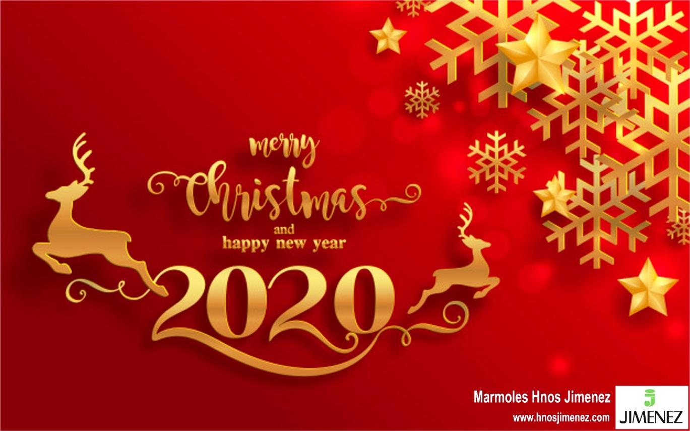 Felices Fiestas Navideñas y Próspero Año Nuevo 2020